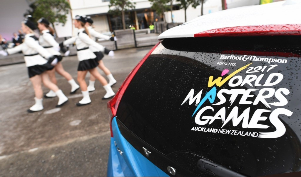 Stage set in Auckland for ninth World Masters Games