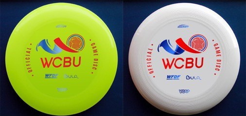 Yellow discs will be used in all matches at the World Championships which are broadcast ©WFDF