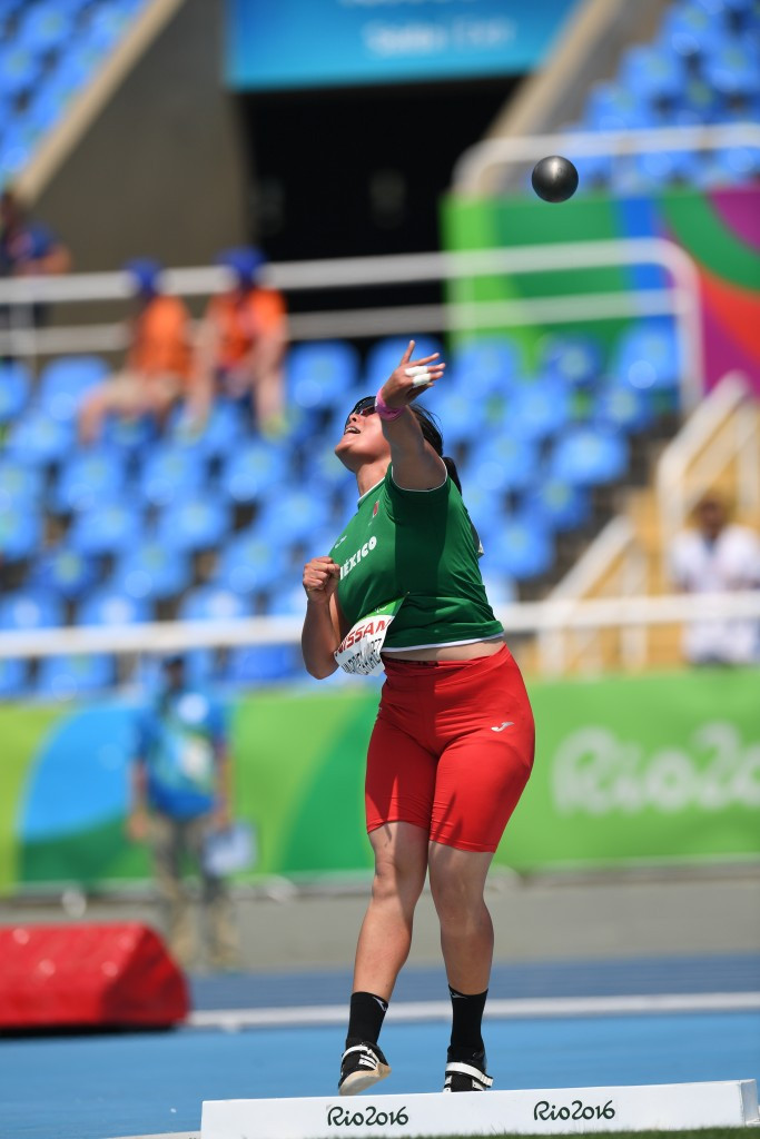 Rio 2016 bronze medallist Rebeca Valenzuela Alvarez of Mexico is due to compete in the women's shot put F11/12 ©Getty Images