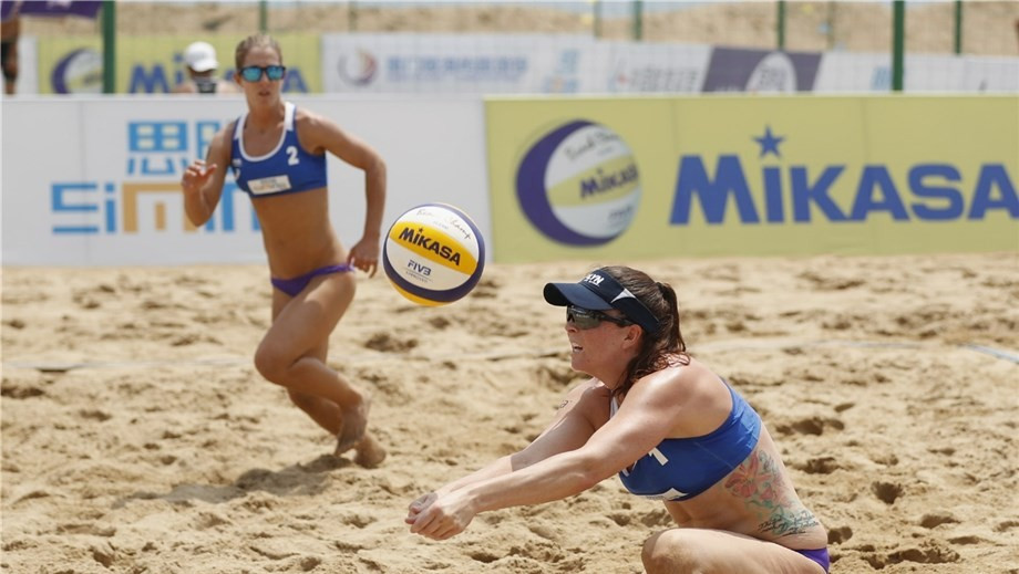 New-look American duo through to main draw at FIVB Xiamen Open