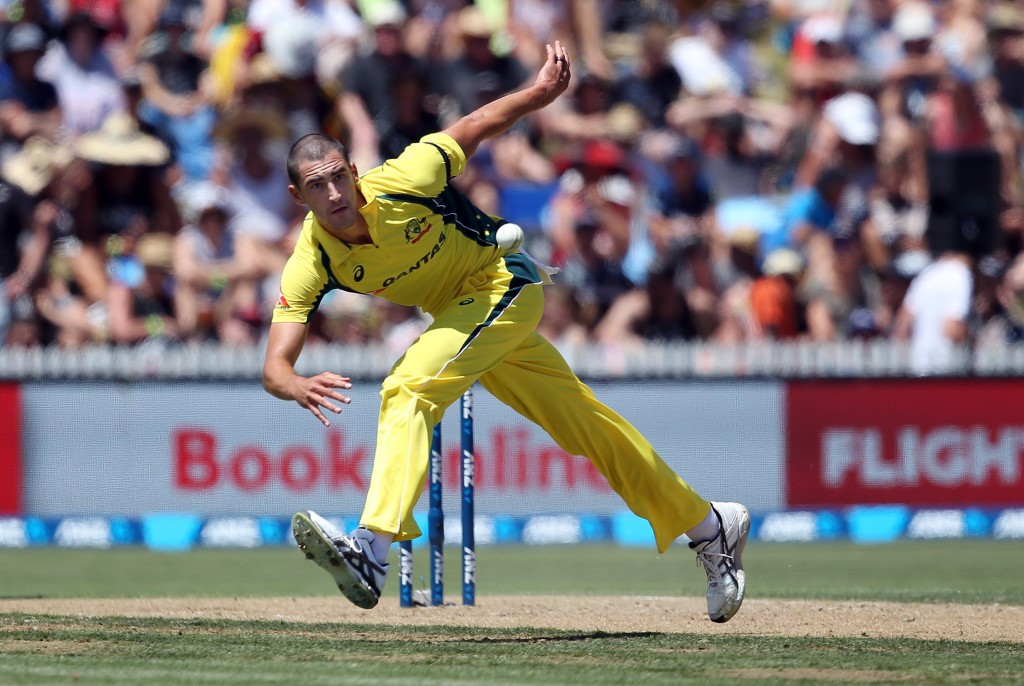 Despite still recovering from injury, Mitchell Starc has been included in Australia's ICC Champions Trophy squad ©Getty Images