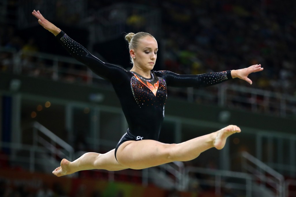 Olympic beam gold medallist safely qualifies while Downie makes European Championships history