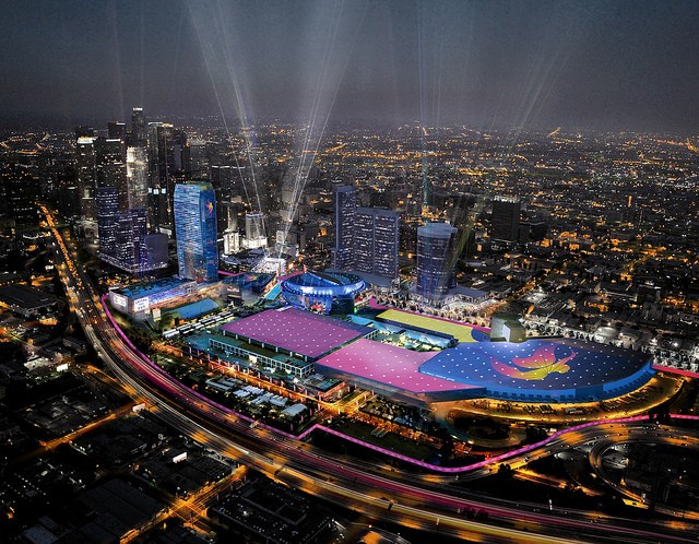 Los Angeles 2024 have launched a series of virtual venue tours ©Los Angeles 2024