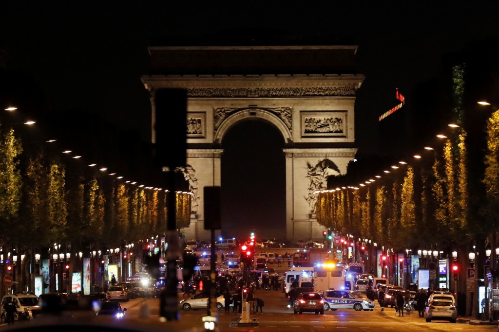 Policeman shot dead in attack down Champs-Élysées in Paris