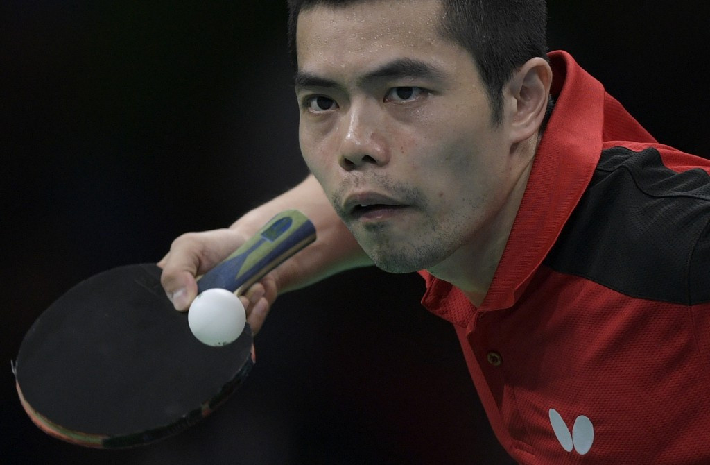 Second seed Chuang Chih-Yuan was beaten by Lim Jong-hoon ©Getty Images