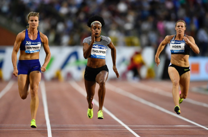 Jamaica's Olympic 100 and 200m champion Elaine Thompson will hope to get her country's challenge in this weekend's IAAF World Relays in The Bahamas off to a winning start in the women's 4x200m ©Getty Images