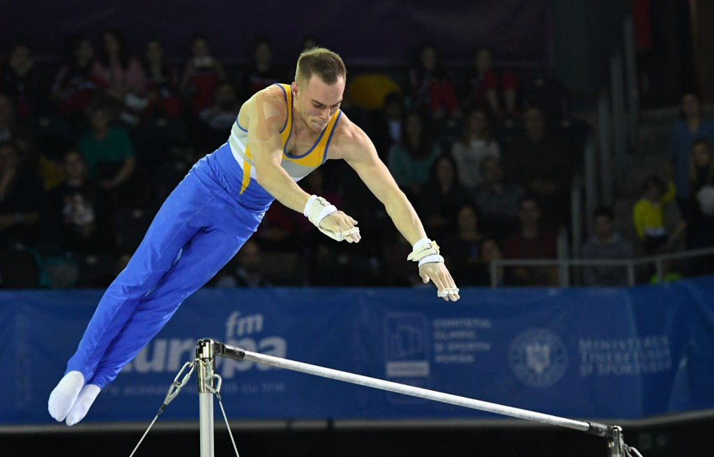 Ukrainian Oleg Verniaiev successfully defended his all-around title with another superb performance ©Getty Images