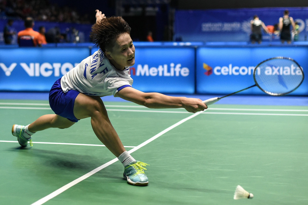 Top seed Chen knocked out of BWF Chinese Masters