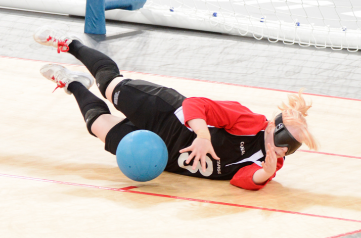 Canadian goalball squads announced for Toronto 2015 Parapan American Games