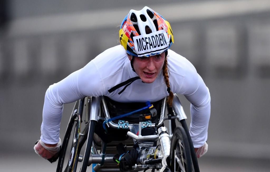 McFadden denied fifth London Marathon wheelchair title by illness