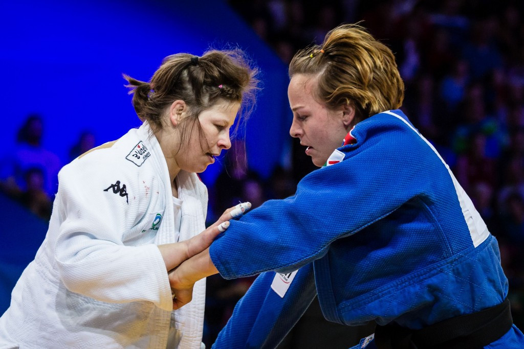 Trstenjak successfully defends title at European Judo Championships