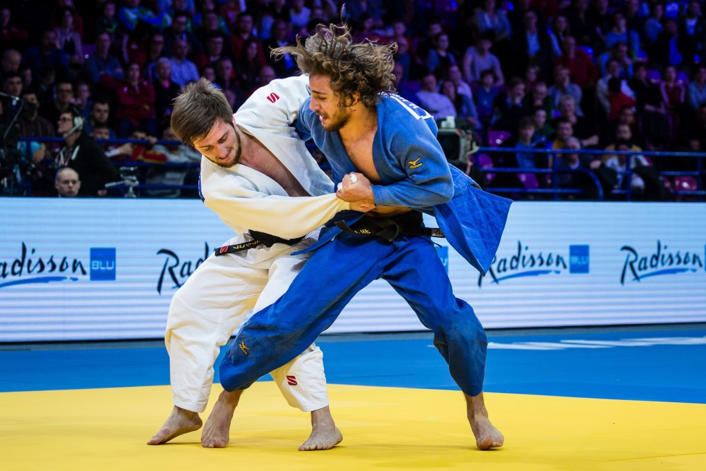 Azerbaijan's Hidayat Heydarov struck gold in the men's under 73kg category ©Getty Images