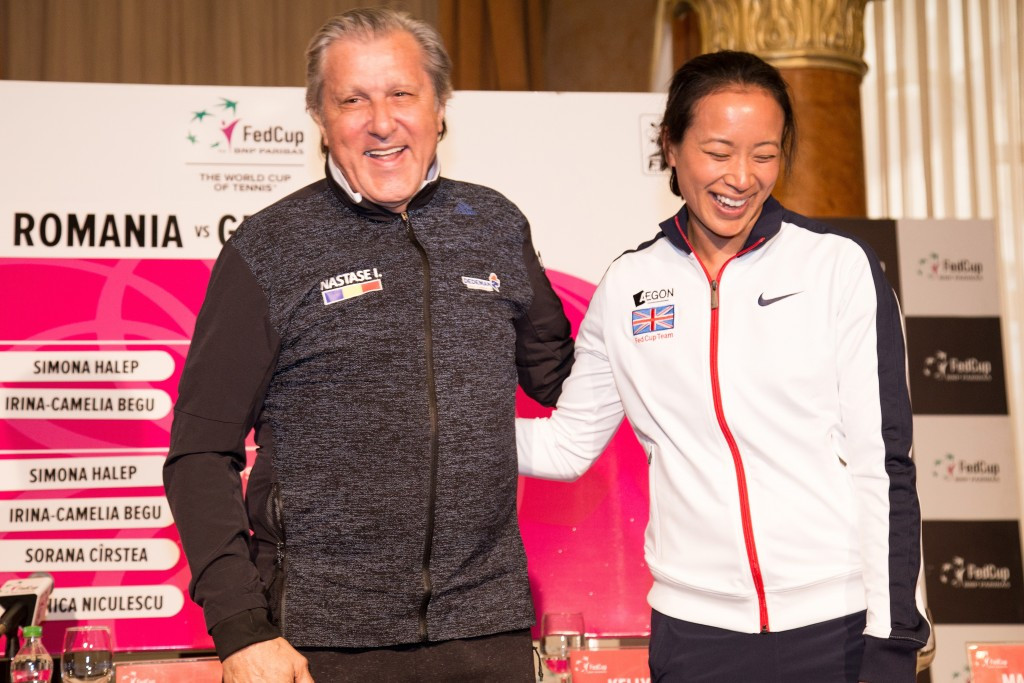Controversy surrounds Nastase during Romania's Fed Cup clash with Britain