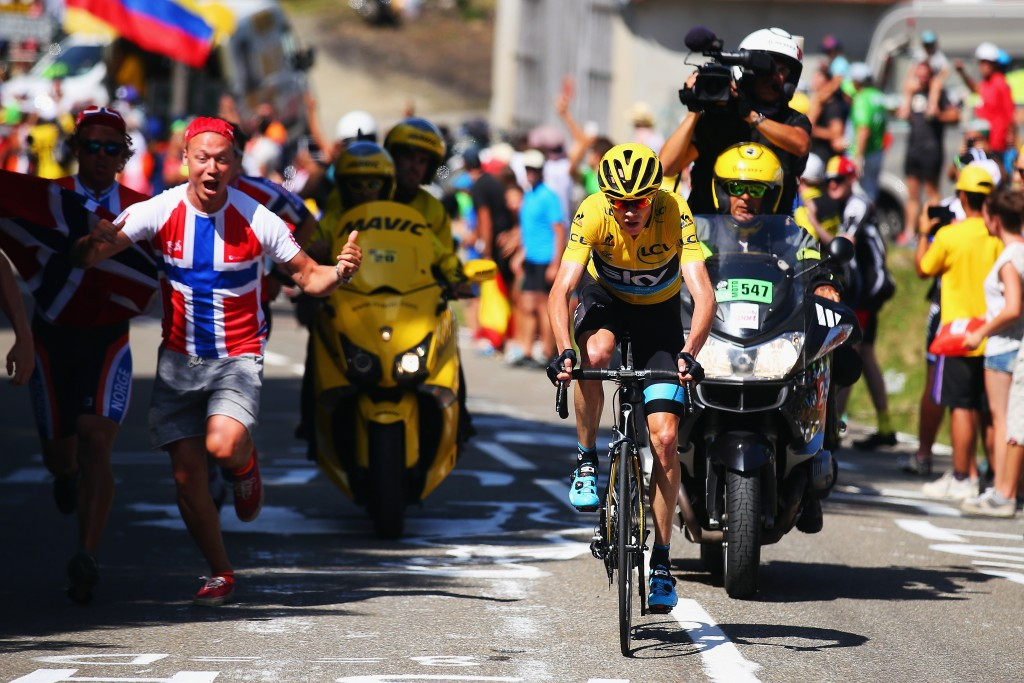 Blistering Froome attack secures Bastille Day stage win to extend Tour de France lead