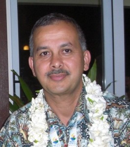 Atma Maharaj has been re-elected as Weightlifting Fiji President ©FASANOC