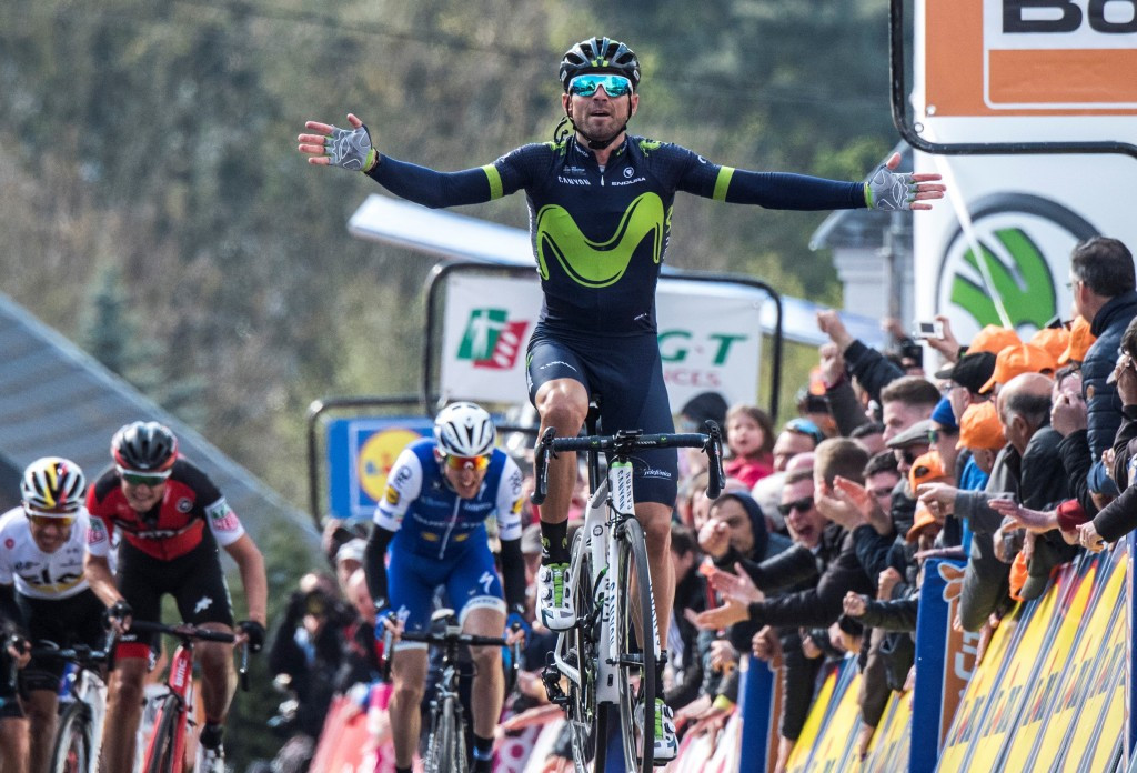 Valverde the favourite for victory at Liège–Bastogne–Liège as UCI World Tour continues