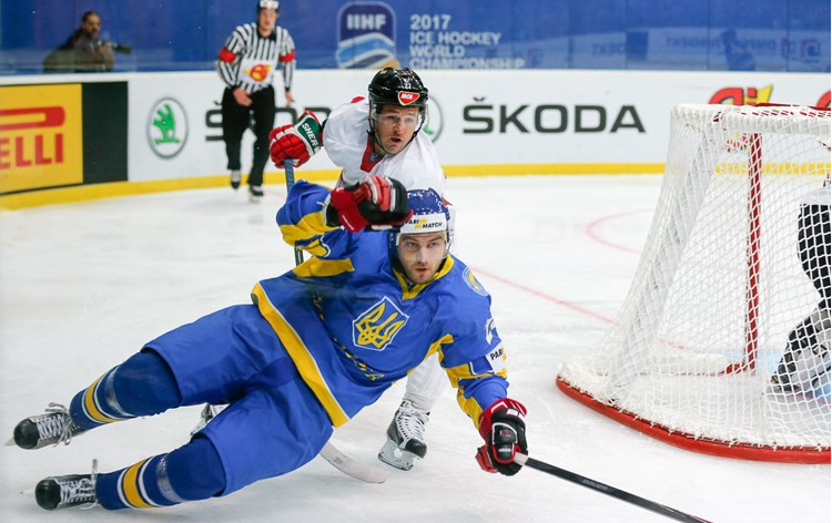 Hosts Ukraine suffer opening day defeat at IIHF World Championships Division I