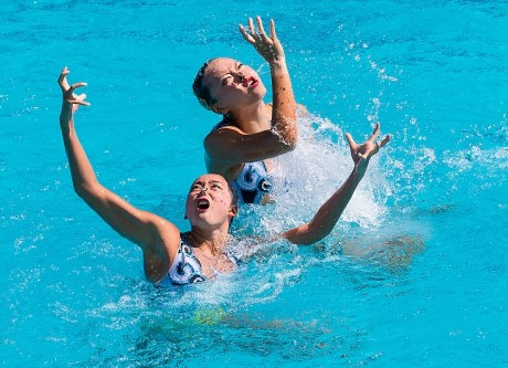 China secure three FINA Synchronised Swimming World Series stage wins at home