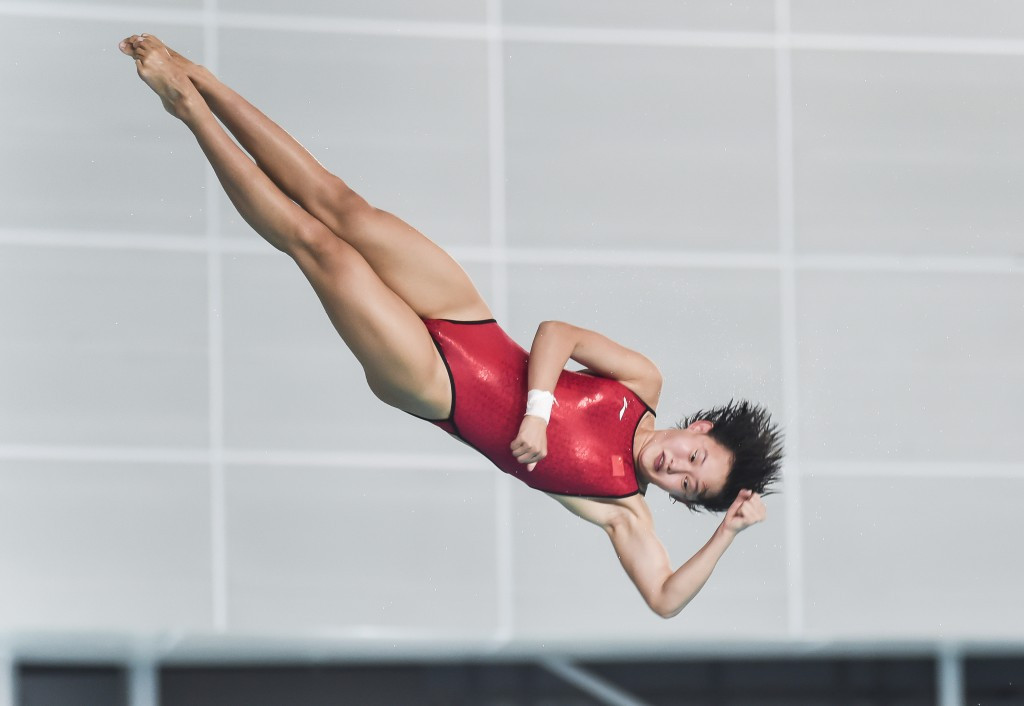 Triple Chinese gold at Diving World Series leg in Canada