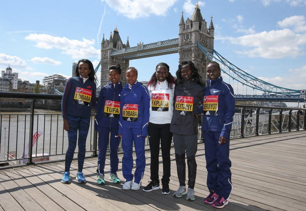 Keitany eyes up world record at London Marathon