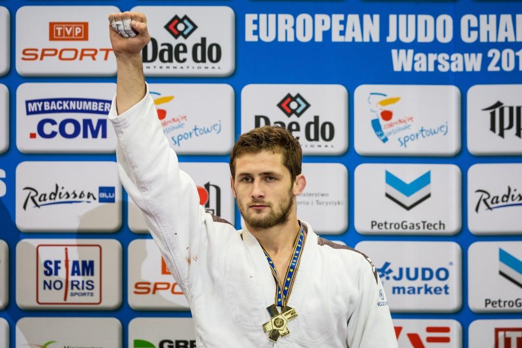 Kukolj claims Serbia's first-ever European judo title