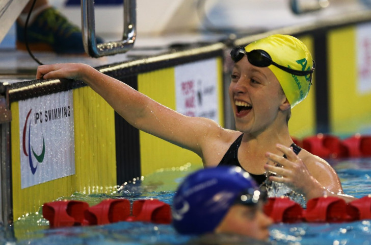 Australian youngster announces arrival on international stage with world record at IPC Swimming World Championships