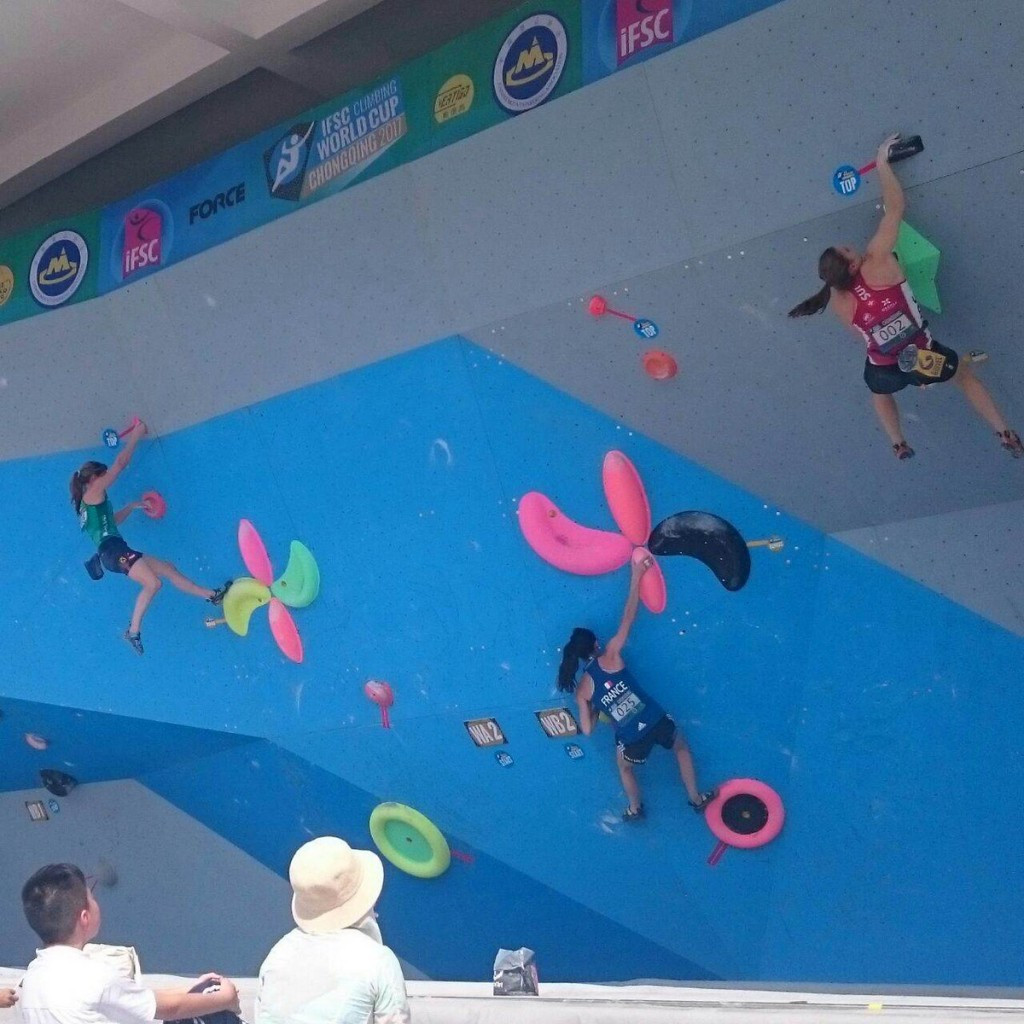 Narasaki and Rubtsov impress during IFSC World Cup qualification in Chongqing