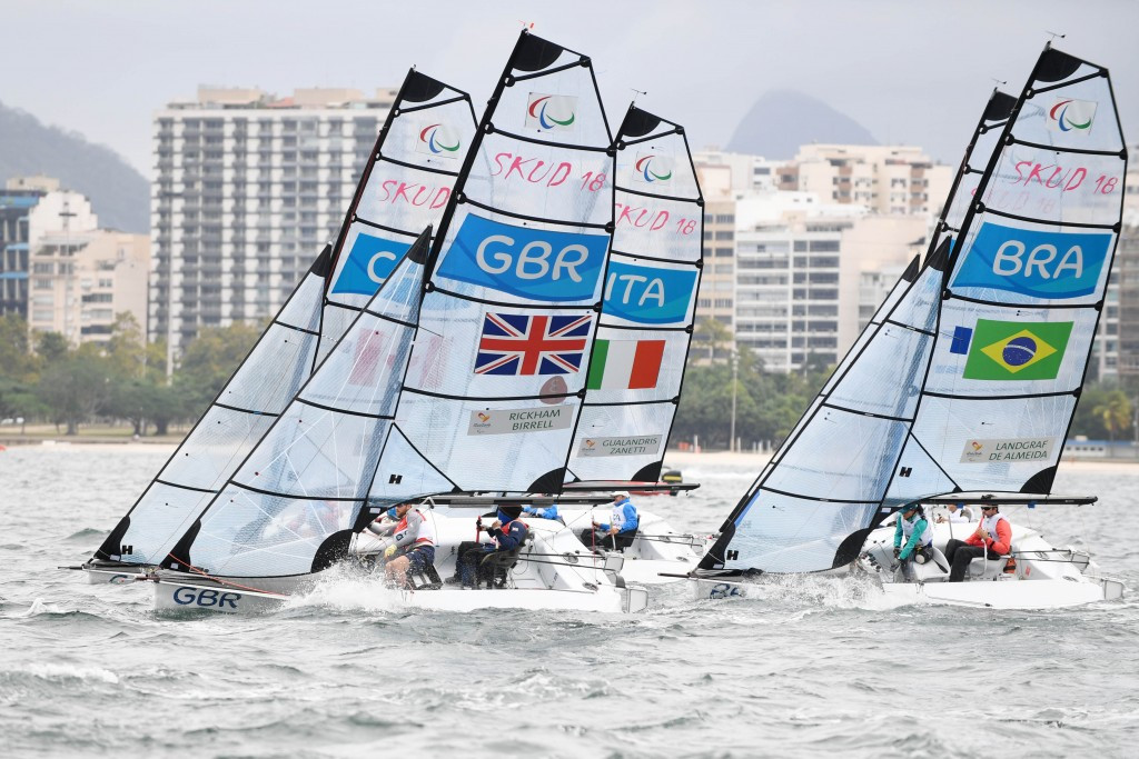 Paralympic sailing made its last appearance at the Games in Rio after being axed from the Tokyo 2020 programme ©Getty Images