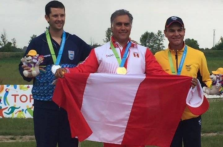 Peruvian Olympic Committee secretary general secures Rio 2016 slot with shock Pan American Games shooting gold