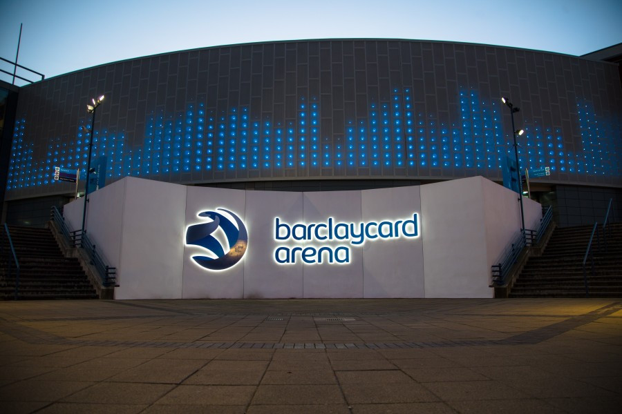 The Barclaycard Arena in Birmingham could be turned into a velodrome for the 2022 Commonwealth Games ©Getty Images