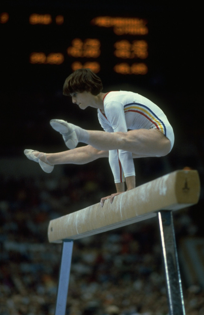 Nadia Comaneci won gymnastics gold on the beam and floor exercise at the Moscow 1980 Olympic Games ©FISU