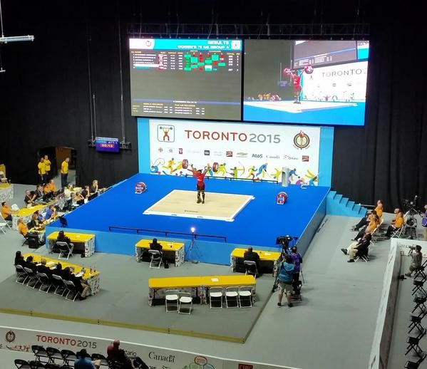Colombian Cuesta wins weightlifting gold for fourth consecutive Pan American Games