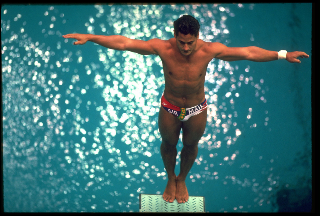 Greg Louganis is the only male and only the second diver in Olympic history to have swept the golds in consecutive Games, which he did in 1984 and 1988 ©Getty Images