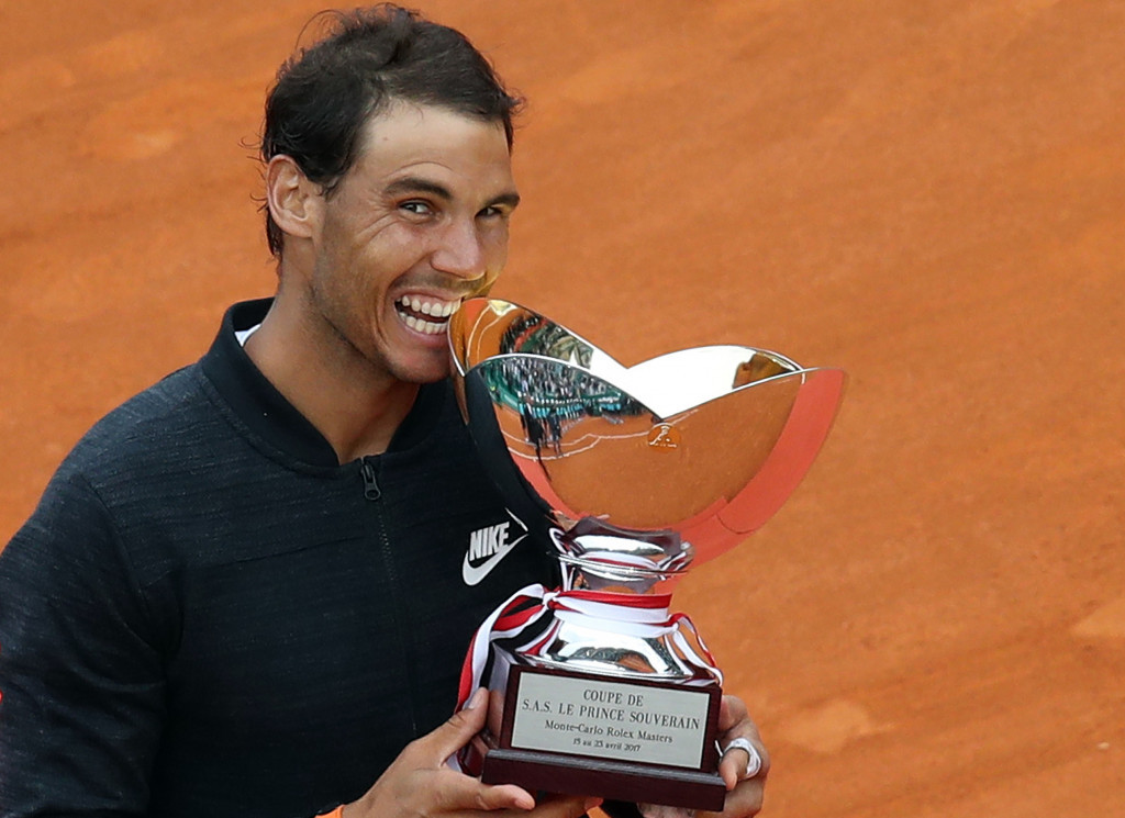 Nadal makes Open-era history with 10th Monte Carlo Masters crown