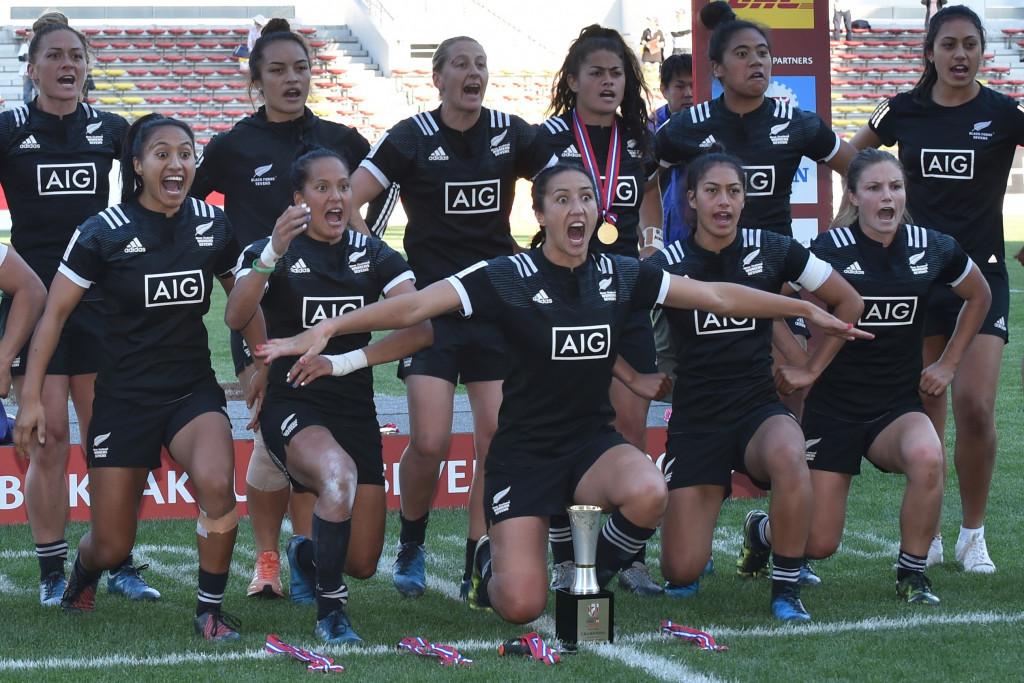 New Zealand Win Women S World Rugby Sevens Series Leg In Japan