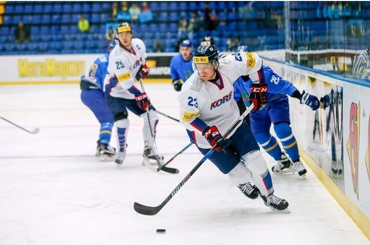 South Korea beat Kazakhstan for first time at IIHF World Championship Division IA