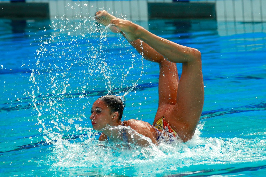 Alvarez secures solo routine victory at FINA Synchronised Swimming World Series