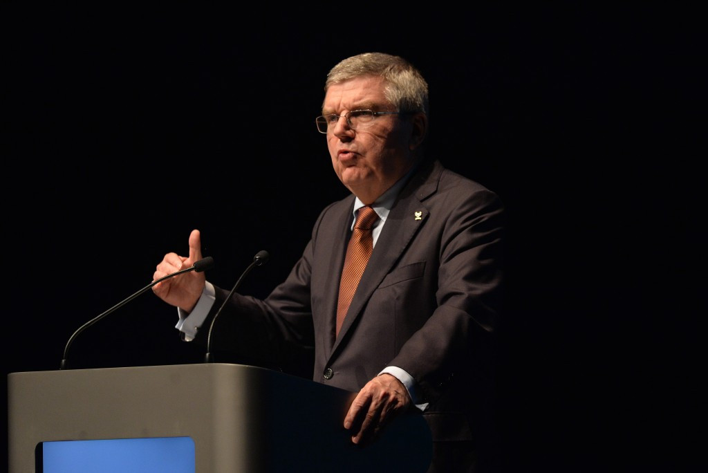 IOC President Thomas Bach is among those expected to attend the PASO General Assembly ©Getty Images