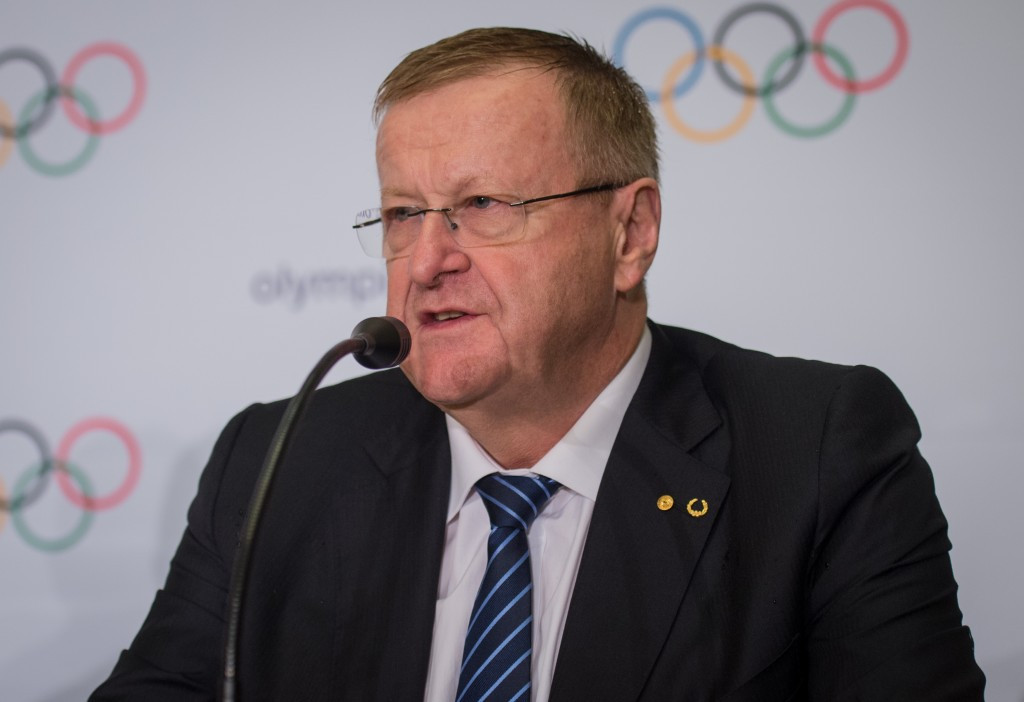 John Coates has pledged to back an Australian Olympic bid if re-elected AOC President ©Getty Images
