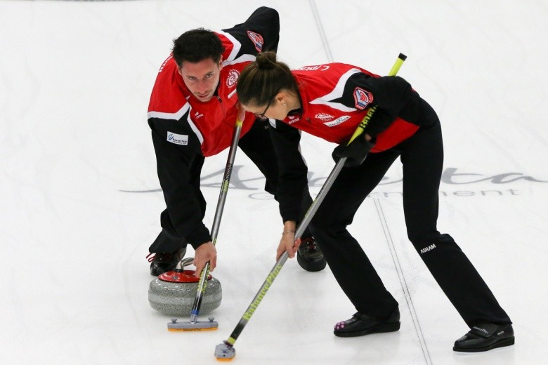 Austria were beaten by South Korea today ©WCF/Richard Gray