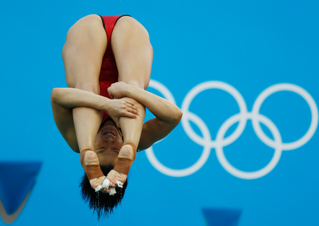 Shi Tingmao topped the women's 3m springboard podium ©Getty Images