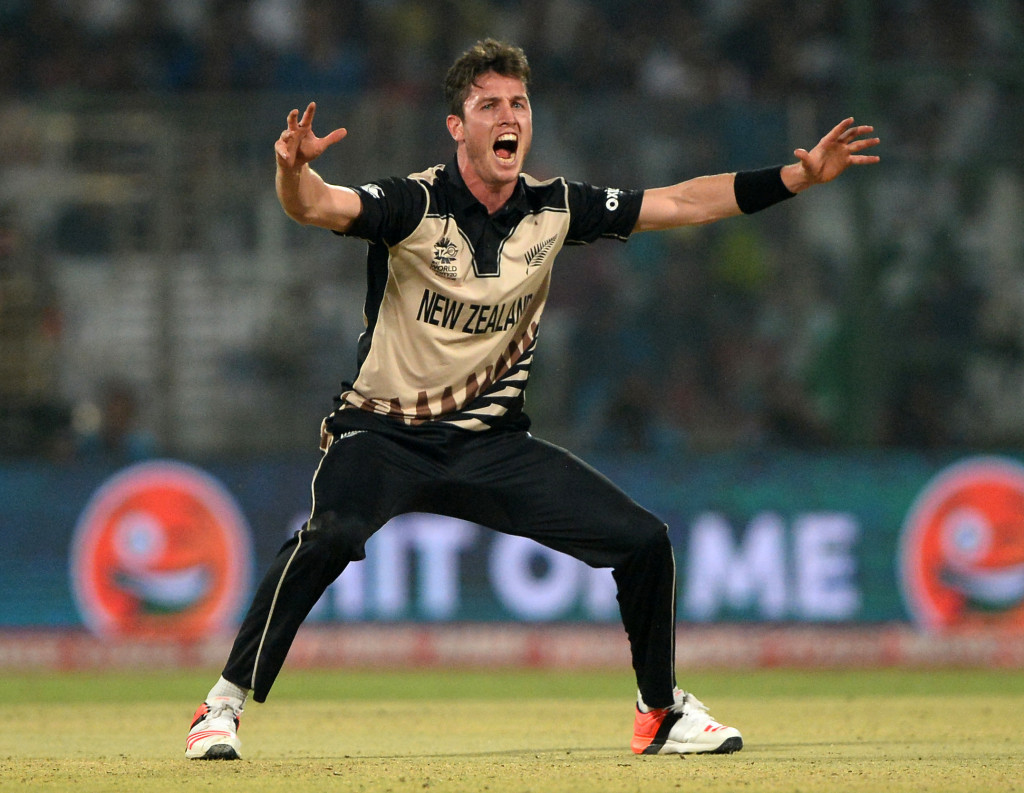 Adam Milne has made the New Zealand squad for the Champions Trophy ©Getty Images