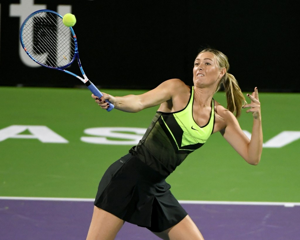 Sharapova to face Vinci on return from drugs ban