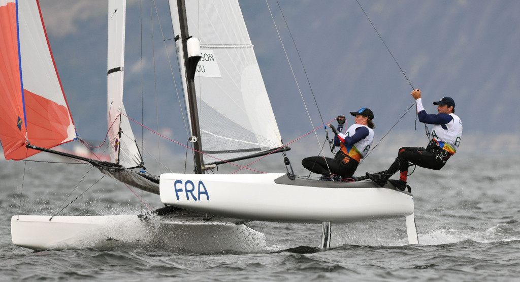 Besson looks to vanquish Rio 2016 disappointment at Sailing World Cup in Hyères