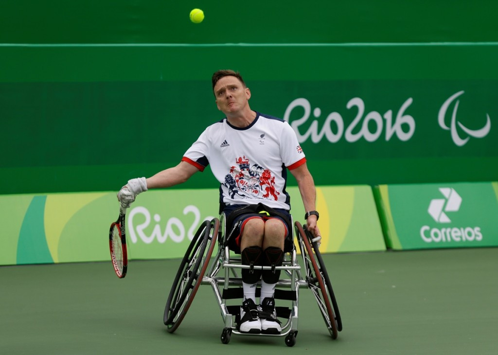 Paralympic medallist among British trio to announce retirement from wheelchair tennis