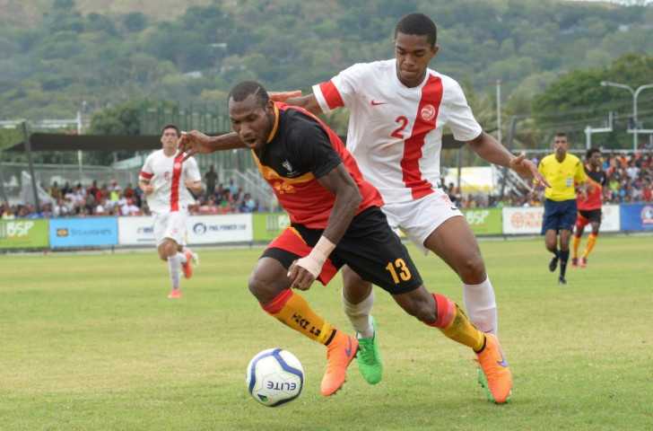 Tahiti beat Papua New Guinea in today's first men's football semi-final and will now face defending champions New Caledonia in the gold medal match on Friday (July 17) ©Port Moresby 2015