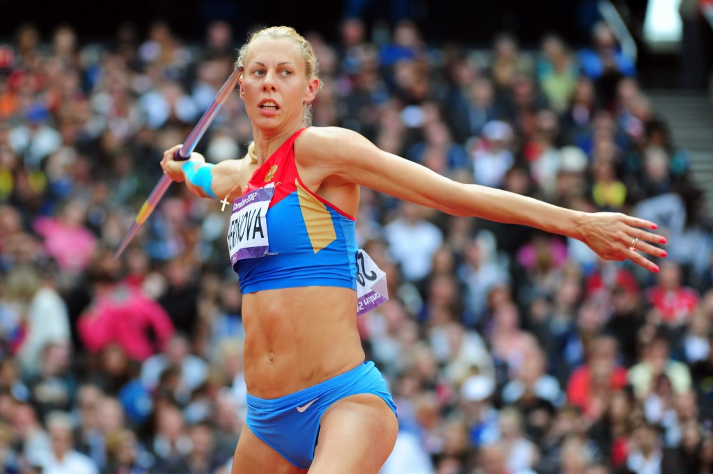 Tatyana Chernova was stripped of her Olympic bronze medal after testing positive for turinabol at Beijing 2008 ©Getty Images