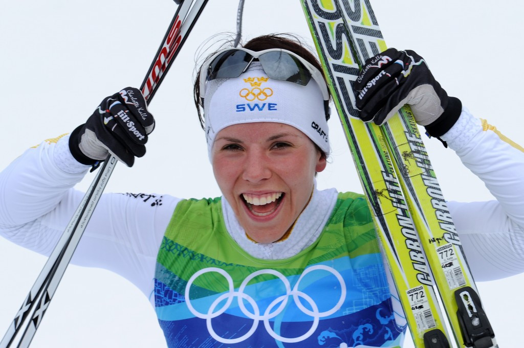 Charlotte Kalla is a double Olympic champion ©Getty Images