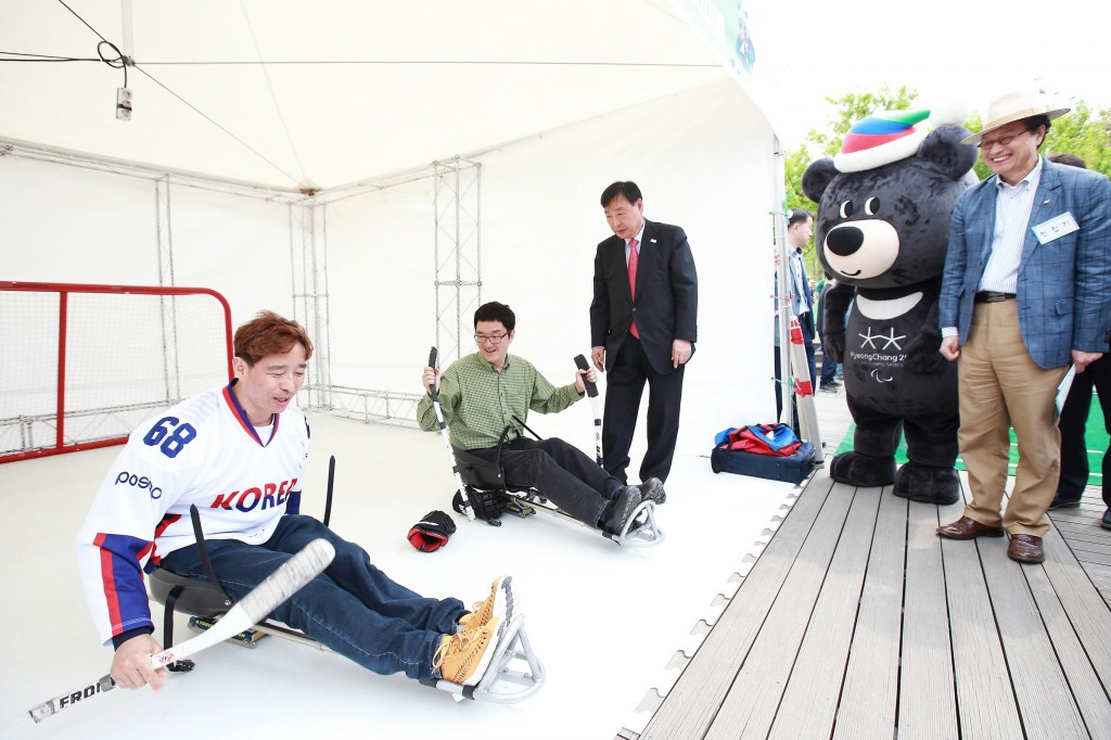 Pyeongchang 2018 President Lee Hee-beom said the Organising Committee were glad to be a part of the event ©Pyeongchang 2018
