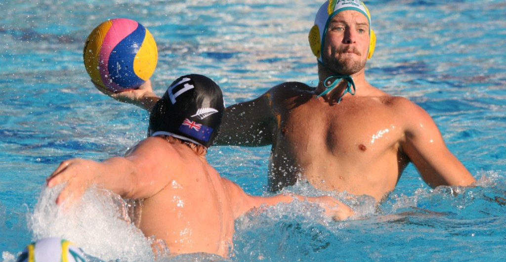 Australia proved too strong for regional rivals New Zealand ©Water Polo Australia